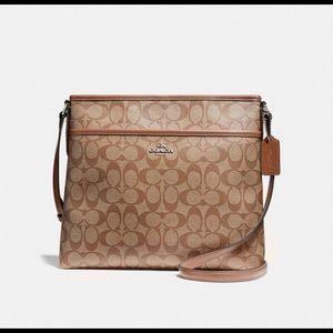 NWT Coach Crossbody File Bag